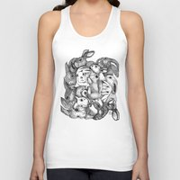 rabbits Tank Tops featuring Rabbits by Ray Eng