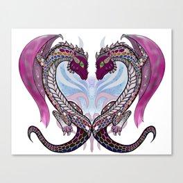 MK Dragon Heart Canvas Print