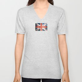 Great Britain, Union Jack Unisex V-Neck