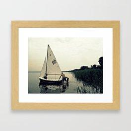 Going Sailing  Framed Art Print
