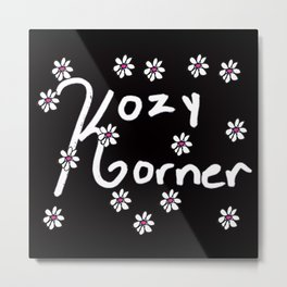 Kozy Korner Metal Print