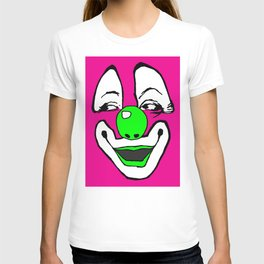 clown art, clown illustration, clown pop art, T-shirt
