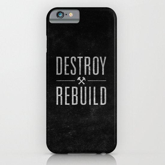 Destroy / Rebuild iPhone & iPod Case