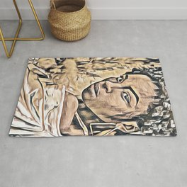 Strong is Beautiful Rug