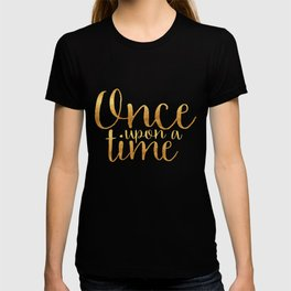 Once Upon a Time - Gold T-shirt