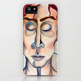 Surrender Portrait of a Woman Gypsy Pastel Orange iPhone Case