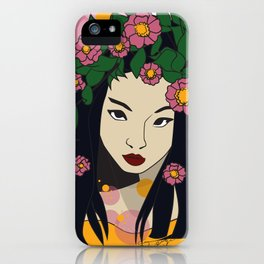 Cultures in Crowns 01 iPhone Case
