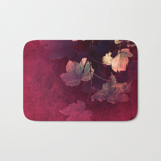 Splendida Bordeaux Bath Mat