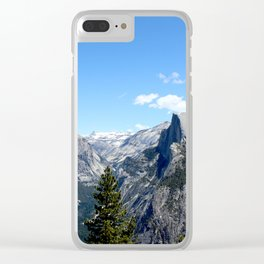 Yosemite 1 Clear iPhone Case