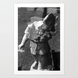 Gothic Angel Art Print