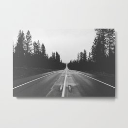 Just Wave Metal Print