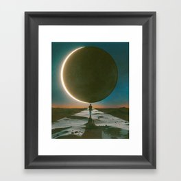 TOTALITY (everyday 08.21.17) Framed Art Print