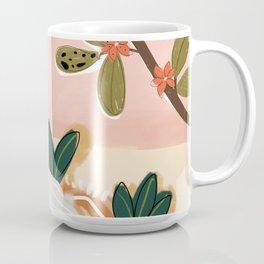 Laying under the full moon Coffee Mug