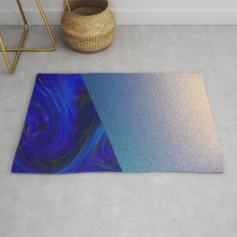 Sapphire and Steel Impressions Rug