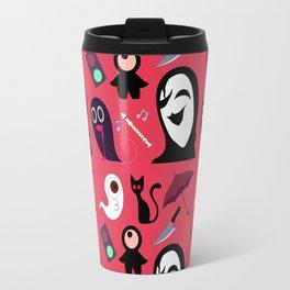 Yume Nikki Pattern Travel Mug