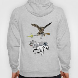 OWL WOLF ALLIANCE 3 Hoody