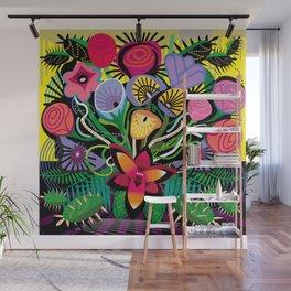 Cactus Jungle Wall Mural