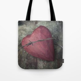 Trapped Heart III Tote Bag