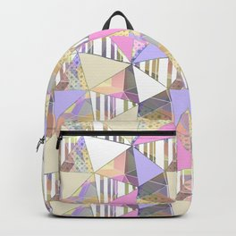 Cute abstract pattern. Backpack