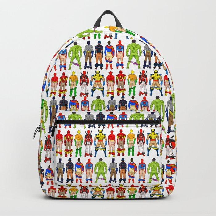 Superhero Butts Backpack