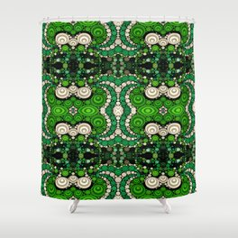 art retro pattern Shower Curtain