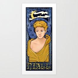 Art Nouveau Niall Art Print