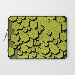 3D Futuristic Cubes V Laptop Sleeve