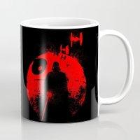 star lord Mugs featuring Death Star Dark Lord by leea1968