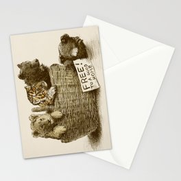 Lions and Tigers and Bears Stationery Cards