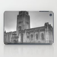 liverpool iPad Cases featuring Liverpool Cathedral by Abi Booth