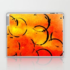 dotted Orange Laptop & iPad Skin