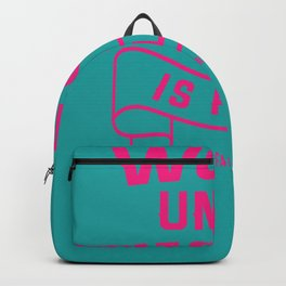 flat stomach work Fitness Gift Backpack
