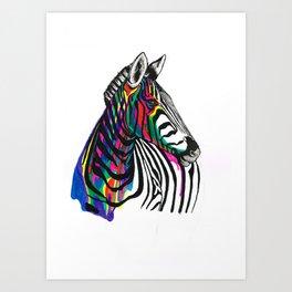 Almost a Unicorn Art Print