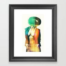 SEX ON TV - MANTID by ZZGLAM Framed Art Print
