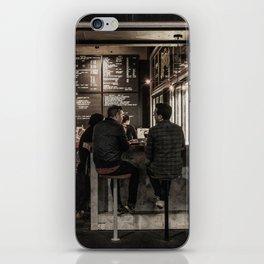 Market Cafe iPhone Skin