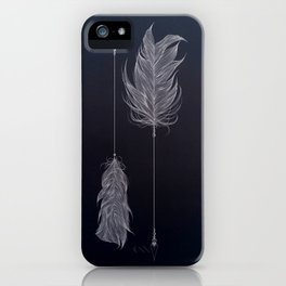 ..and then whats left is your arrow. iPhone Case