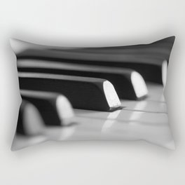 Piano keys Rectangular Pillow