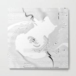 CN - WAVES - 20180507 Metal Print