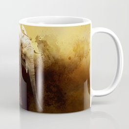 The cute elephant calf Coffee Mug