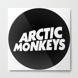 circleLogo arcticMonkeys Metal Print
