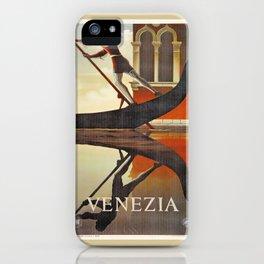 Venice history, gondola iPhone Case