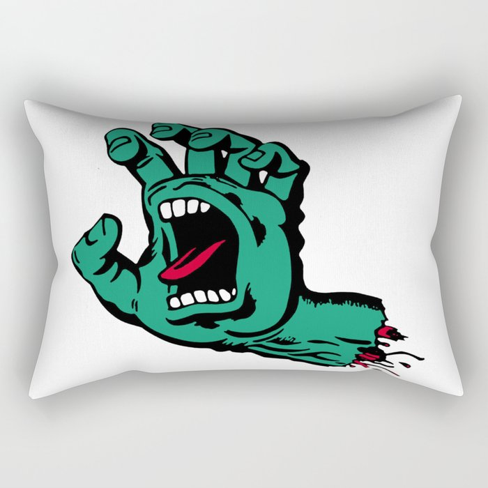 CATCH AND BITE Rectangular Pillow