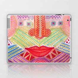 the all seing tranquility mask Laptop & iPad Skin