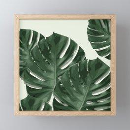 Monstera_Le_1 Framed Mini Art Print