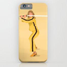 Kill Bill - The Bride iPhone Case