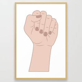 Female Power 7 Framed Art Print