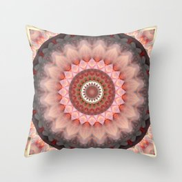 Mandala Teenage Girl Throw Pillow