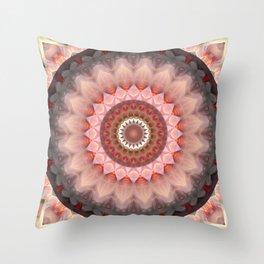 Mandala Teenage Girl Throw Pillow