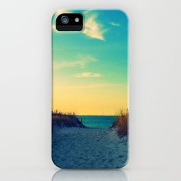 Walk in Love iPhone Case