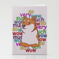 doge Stationery Cards featuring Doge  by Corinna Schlachter